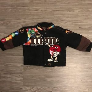 Other - Embroidered M&M NASCAR Jacket 2T